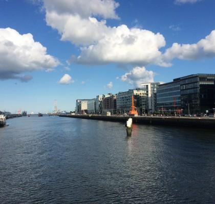 Dublin Quays john and alex's travel blog